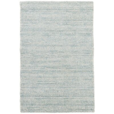 Quartz Hand-Woven Blue Area Rug Rug Size: Rectangle 8 x 10