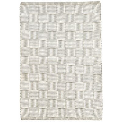 Webber Hand-Woven Gray Indoor/Outdoor Area Rug Rug Size: Rectangle 4 x 6