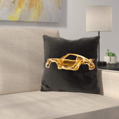Porsche 911D Throw Pillow