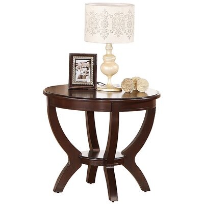Faucher Round End Table