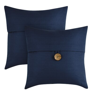 Capule Throw Pillow Color: Navy