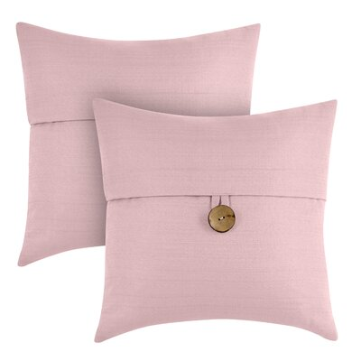 Capule Throw Pillow Color: Blush