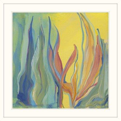 'Tropical Garden' Framed Print