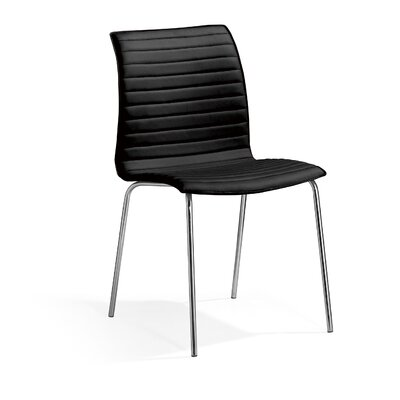 Ruiz Dining Chair Color: Black