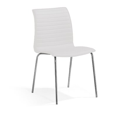 Ruiz Dining Chair Color: White