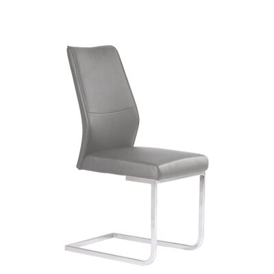 Ruhland Upholstered Dining chair Upholstery Color: Gray