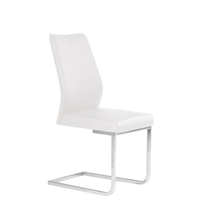 Ruhland Upholstered Dining chair Upholstery Color : White