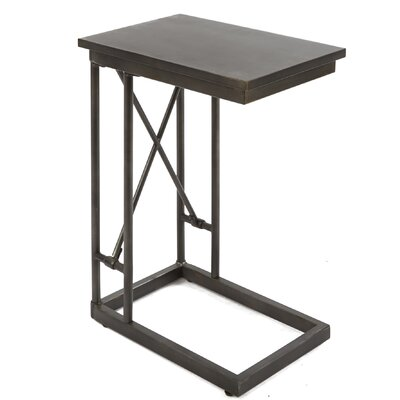 Selena Industrial End Table