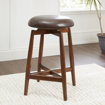 Castorena Modern 24 Swivel Bar Stool