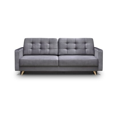 Cassella Vegas Reversible Sleeper Sectional Upholstery: Gray