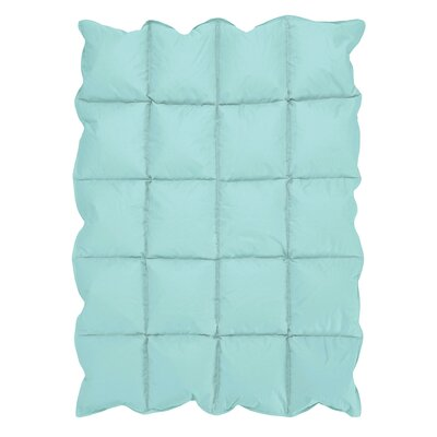 Turquoise Down Comforter