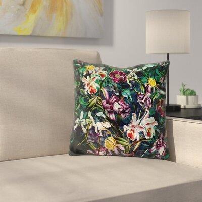 Roodriguez Secret Garden Throw Pillow