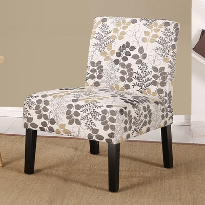 Kernberry Slipper Chair Upholstery: Leaf