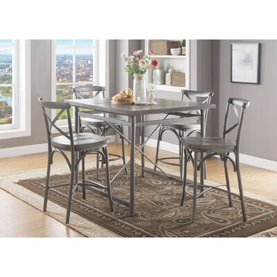 Westfall Counter Height 5 Piece Pub Table Set