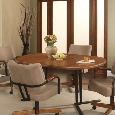Kiesel Extendable Dining Table Size: 30.25 H x 42 W