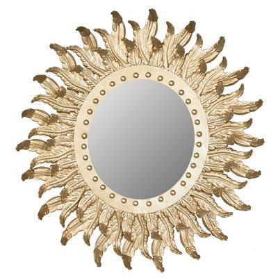 House of Hampton Mccorkle Sun Burst Accent Mirror