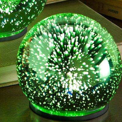 3D Lighted Glass Water Globe Set 65B86 GR
