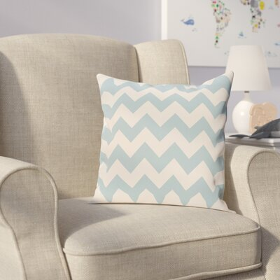 Milo Throw Pillow Size: 16 H x 16 W, Color: Light Blue