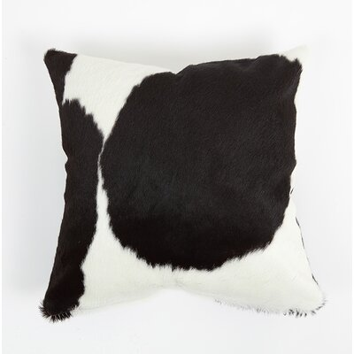 Pinon Natural Leather Pillow Cover Size: 16 x 16