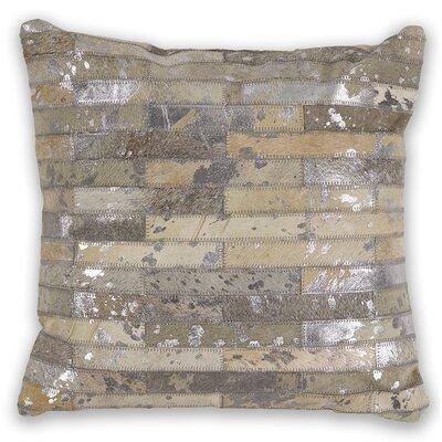 Linhart Leather Throw Pillow