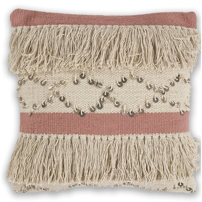 Crotty 100% Cotton Throw Pillow
