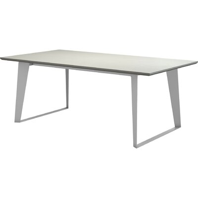 Amsterdam Dining Table Color: White Sand