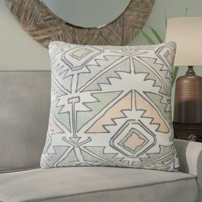 Bemiston Geometric Down Filled 100% Cotton Throw Pillow Size: 22 x 22, Color: Sundown