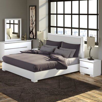 Fenner Platform Configurable Bedroom Set Size: California King