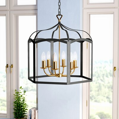 Evelina 6-Light Mini Chandelier
