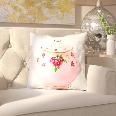 Jakes Teapot Throw Pillow