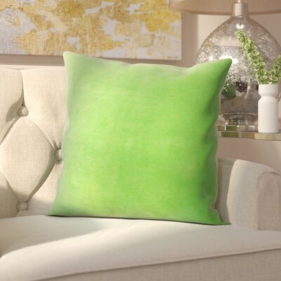 Northam Cotton Throw Pillow Color: Green