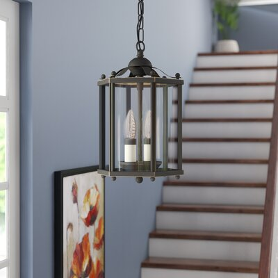 Alvordton 2-Light Foyer Pendant Finish: Heirloom Bronze