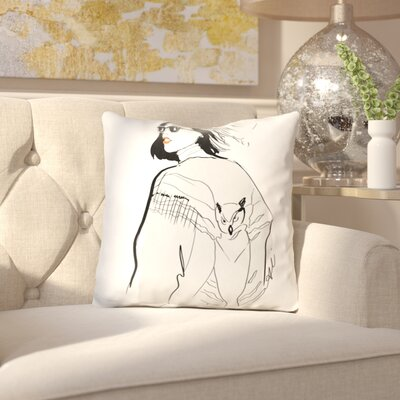 Darrie the Hilary Throw Pillow