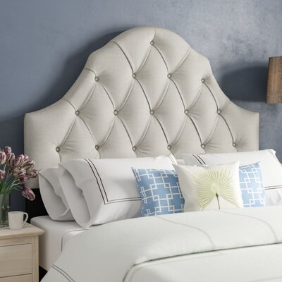 Gerace Upholstered Panel Headboard Size: Full/Queen