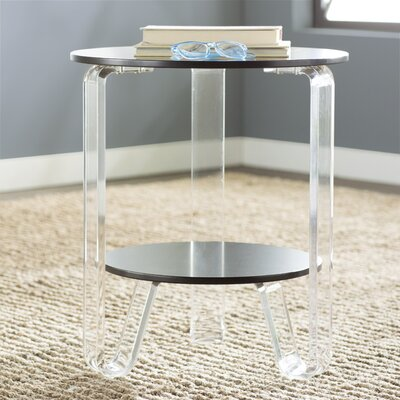 Jocelyn End Table Finish: Black
