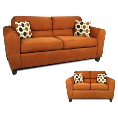 Nashville 2 Piece Living Room Set