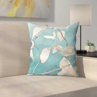 Maja Hrnjak Turquoise2 Throw Pillow Size: 18 x 18