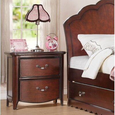 Cuthbertson 2 Drawer Nightstand