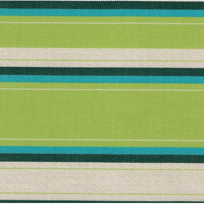 Escamilla Acrylic Throw Pillow Color: Lime Stripe, Size: 20 H x 20 W