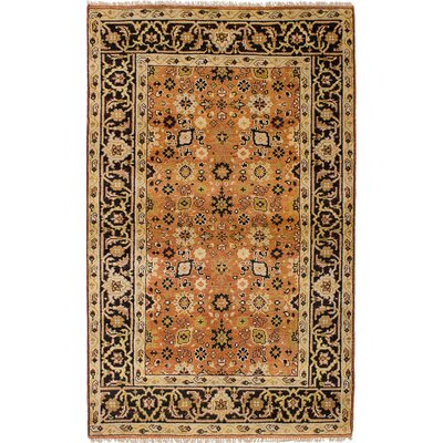 One-of-a-Kind Ismail Hand-Knotted Wool Copper Area Rug