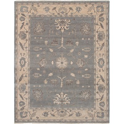 One-of-a-Kind Eglinton Hand-Knotted Wool Gray/Beige Area Rug