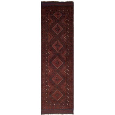 One-of-a-Kind Jacobus Hand-Knotted Wool Dark Copper Area Rug