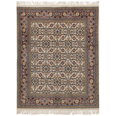 ne-of-a-Kind Procter Hand-Knotted Wool Cream Area Rug