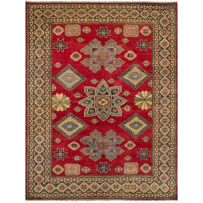 One-of-a-Kind Jaggers Hand-Knotted Wool Red Area Rug