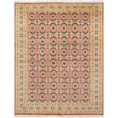 One-of-a-Kind Kania Hand-Knotted Wool Beige/Brown Area Rug
