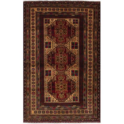 One-of-a-Kind Ingham Hand-Knotted Wool Cream Area Rug