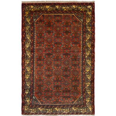 One-of-a-Kind Kapp Hand-Knotted Wool Brown/Beige Area Rug