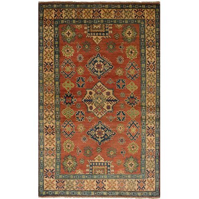 One-of-a-Kind Jaggers Hand-Knotted Wool Dark Copper Area Rug