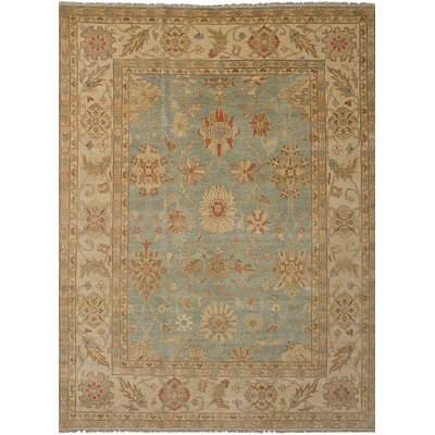 One-of-a-Kind Vadnais Hand-Knotted Wool Beige/Gray Area Rug