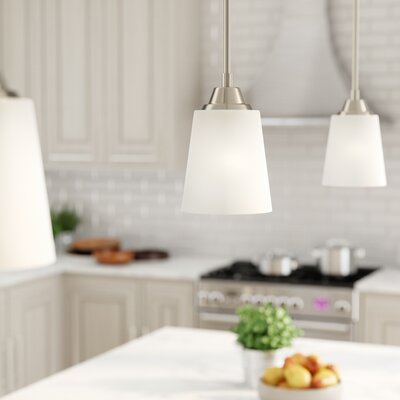 Colfax 1-Light Mini Pendant Finish: Brushed Polished Nickel